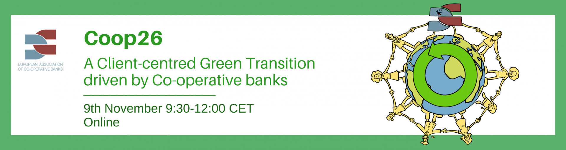 COOP26: A Client-Centered Green Transition driven by Co-operative Banks