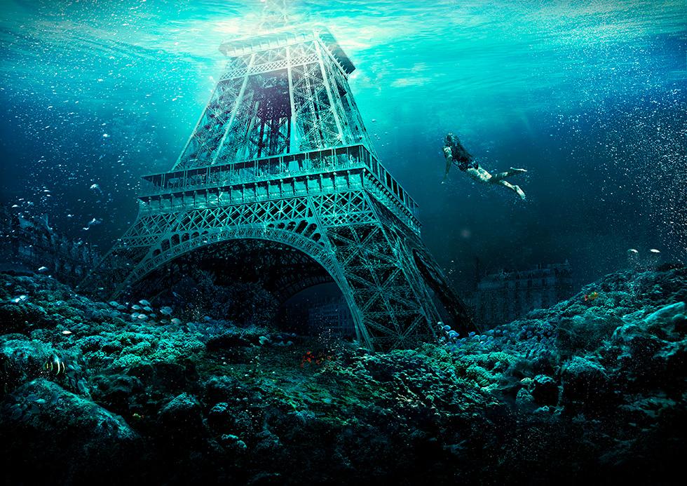 Arena in Paris - Retouche, création et post-production par Glucone-R