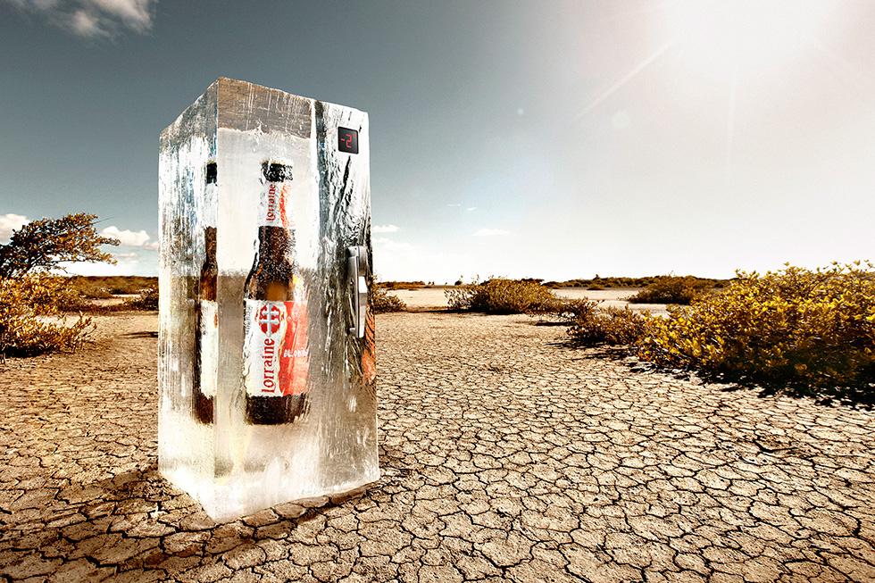 Imbrication photo pour la bière Lorraine par Glucône-R