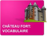 Le château fort - Vocabulaire (Exercices)