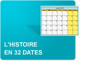 L'histoire en 32 dates (Exercices)