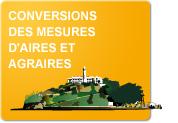 Conversions des mesures d'aires et agraires (Exercices)
