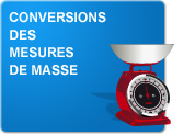 Conversions des mesures de masse (Exercices)