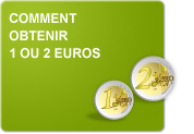 Comment obtenir 1 ou 2 euros (Exercices)