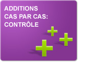 Additions cas par cas: contrôle (Exercices)