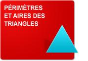 Périmètres et aires des triangles (Exercices)