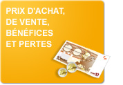 Prix d'achat, de vente, bénéfices et pertes (Exercices)
