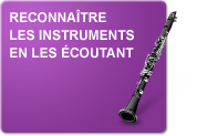 Reconnaître les instruments en les écoutant (Exercices)