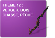 Thème 12 : Verger - Bois - Chasse - Pêche (Exercices)