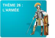 Thème 26 : L'armée (Exercices)