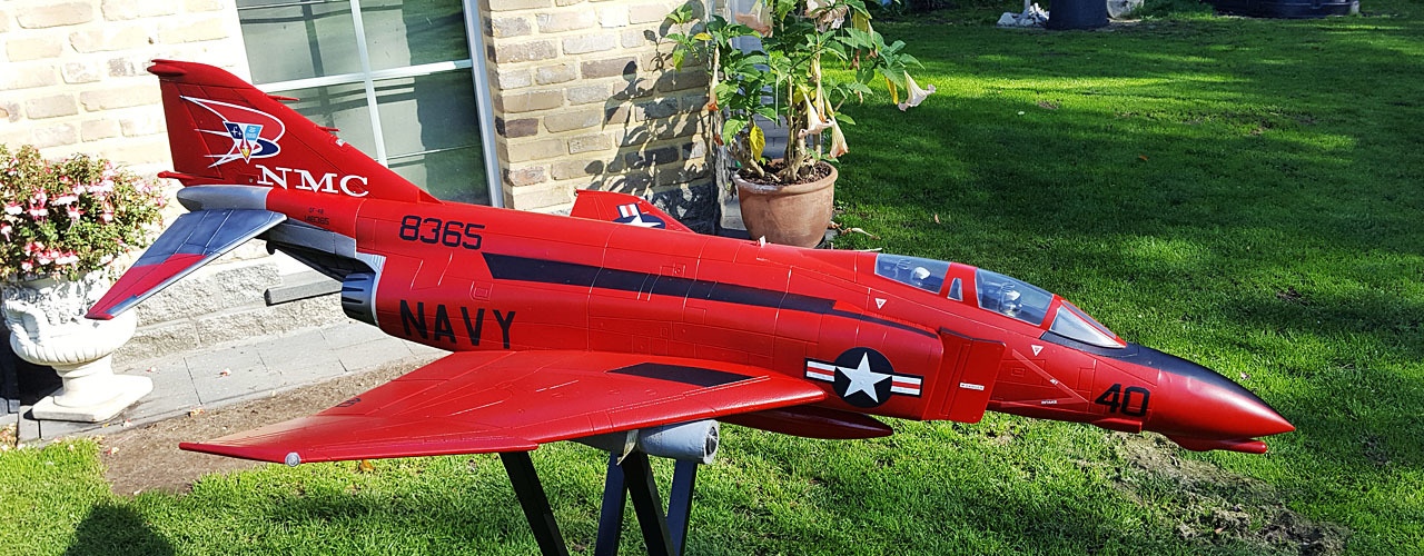 Freewing F-4D Phantom II 90mm EDF Jet