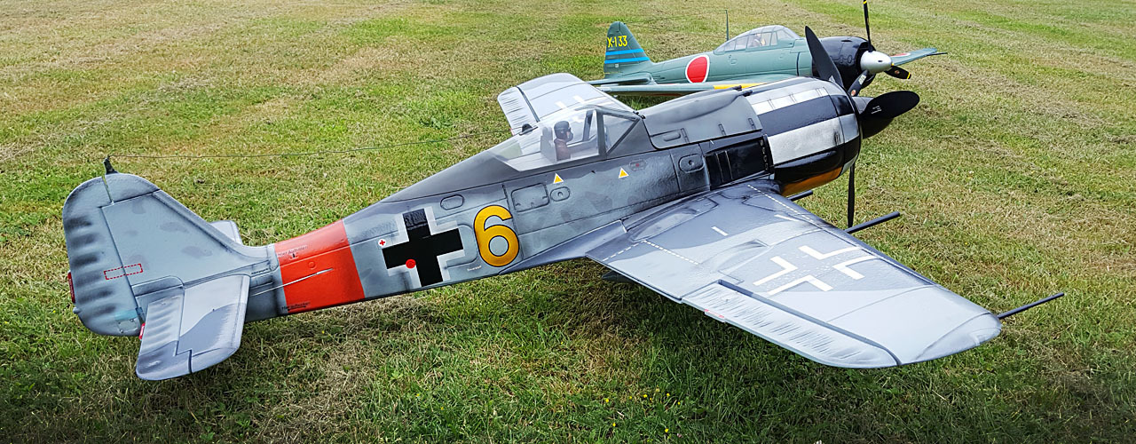 FMS Focke-Wulf Fw 190-Y6 1m40