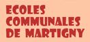 site des écoles Communales  de Martigny