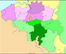 Carte Belgique: Politique