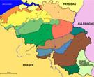 Carte Belgique: Paysages régionaux