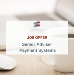 Job Vacancy -  (Senior) Adviser Payment Systems
