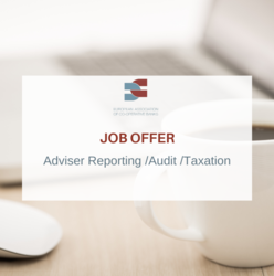 Job offer - Adviser Reporting /Audit /Taxation
