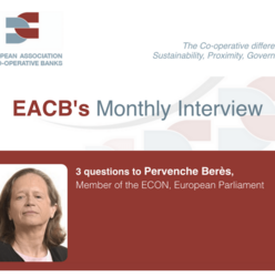 EACB's Monthly Interview - 3 questions to Pervenche Berès, Member of the ECON, European Parliament