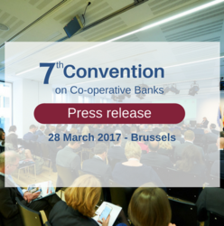Press release: Co-operative banks put forward policy recommendations on regulation, digitalisation and the future of Europe