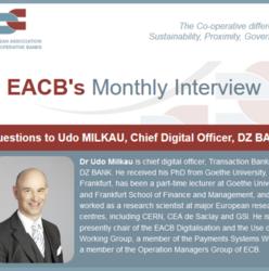 3 questions to Udo MILKAU, Chief Digital Officer, DZ BANK