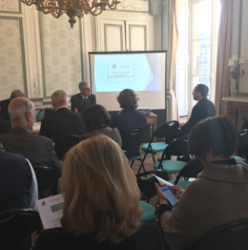 EACB Award's winners celebrated at the EACB Think tank on co-operative banking meeting in Paris