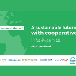 European co-operatives issue a common statement - A sustainable future with cooperatives
