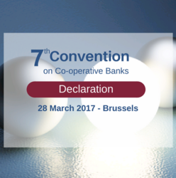EACB Convention on Co-operative Banks Declaration:  the way forward