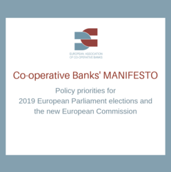 Co-operative Banks' Manifesto - Policy priorities for 2019 European Parliament elections and  the new European Commission