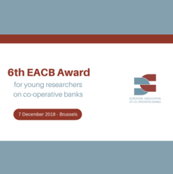 EACB Award's winners celebrated at the EACB Executive Committee end of the year meeting in Brussels