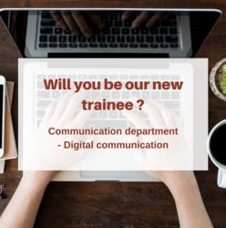 Internship offer: Digital communication