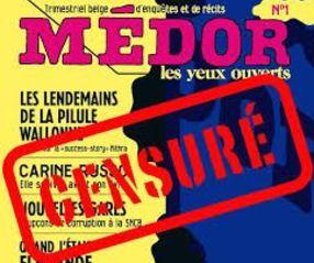 Le juge des référés de Namur lève les mesures de censures prononcées unilatéralement contre la publication du premier numéro du magazine Médor