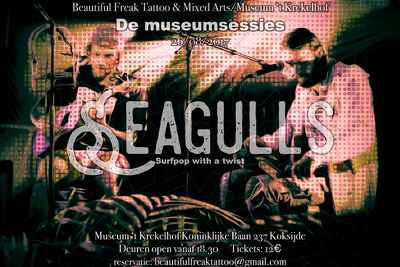 Seagulls - Surfpop with a twist -