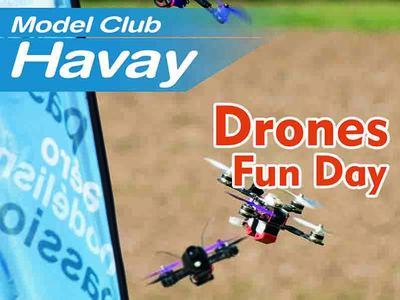 Drones Fun Day 2018 à Havay