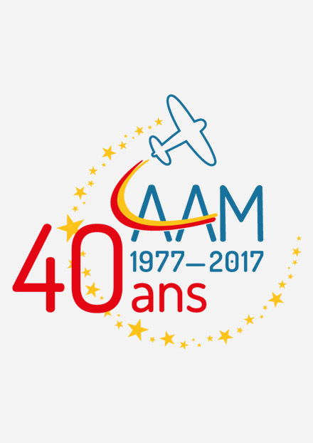 Logos 40 ans AAM