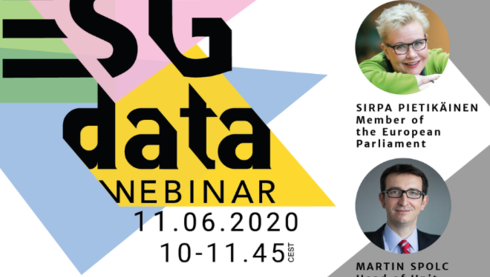 Hanken School of Economics, Finance Finland, Finance Denmark and Finance Norway host a Webinar on ESG data – the capital in the sustainable transition
