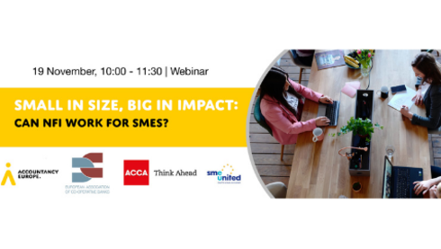 Small in size, big in impact: Can NFI work for SMEs?