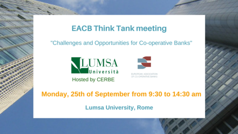 EACB Think Tank Meeting: