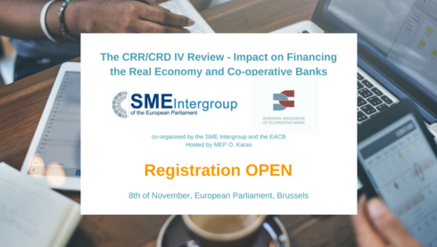 EP breakfast discussion on The CRR/CRD IV review : Impact on Financing the Real Economy and Co-operative Banks