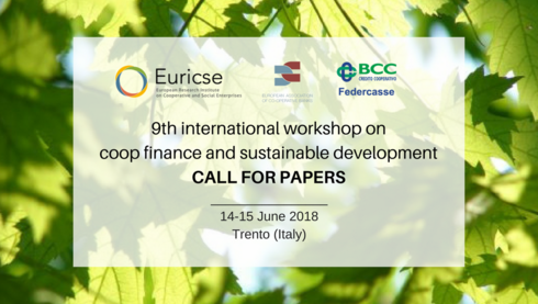 CALL FOR PAPERS | 9th International workshop on cooperative finance and sustainable development - Trento (Italy)