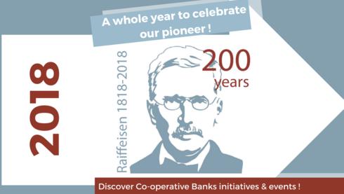 Raiffeisen Year 2018 - Celebration of the 200th Raiffeisen's anniversary