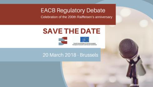 EACB Regulatory Debate - 20 March 2018, Brussels