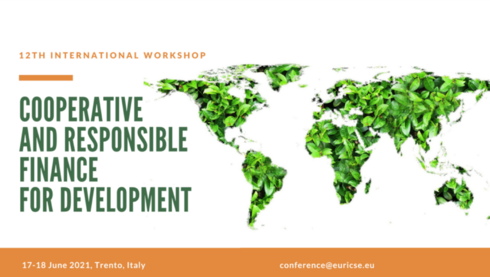 12th Euricse International Workshop on Cooperative and Responsible Finance for Development