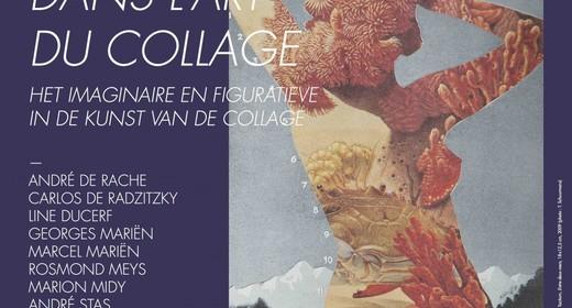 Het imaginaire en figuratieve in de kunst van de collage
