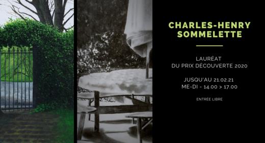 Prix Découverte 2020 : Charles-Henry Sommelette