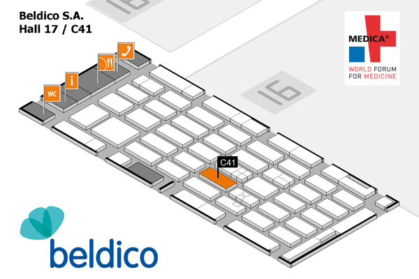 Beldico will take part at MEDICA 2017