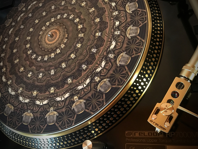 Zoetrope Turntable Slipmat