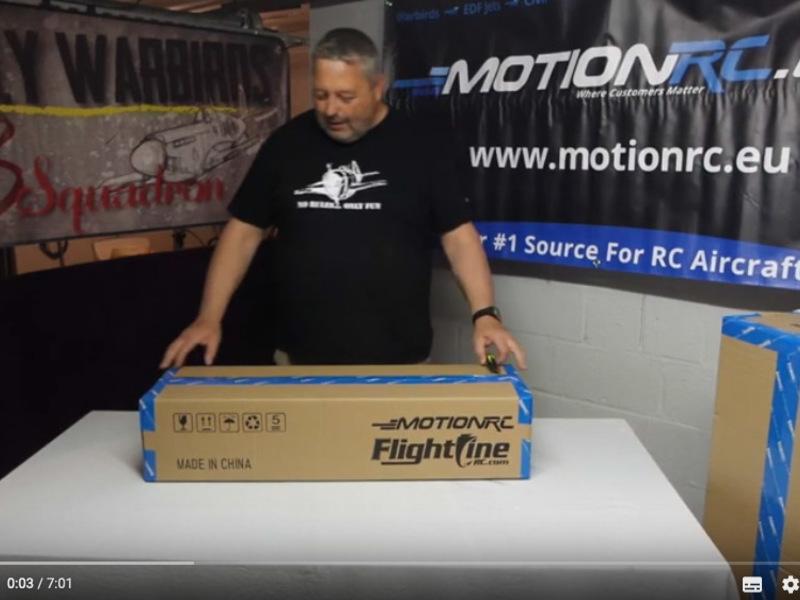 FlightLine P51-D 850mm, wat zit er in de doos