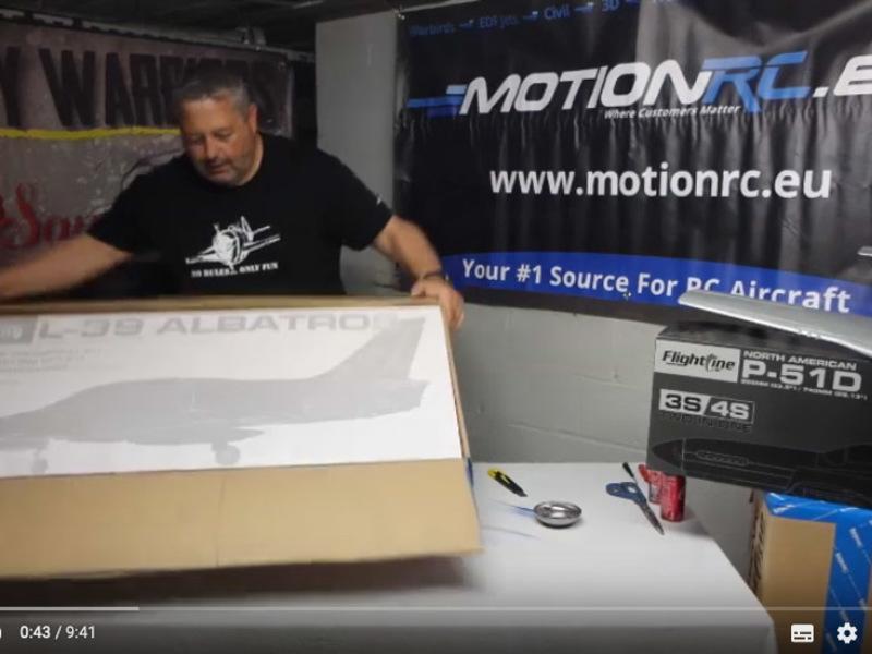 De Albatros L39 van Freewing, Motionrc.eu, wat zit er in de doos