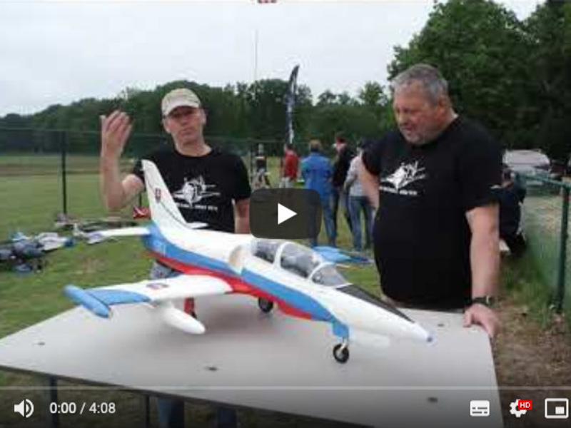 De Albatros L39 van Freewing, Motionrc.eu, eerste indrukken van Eric