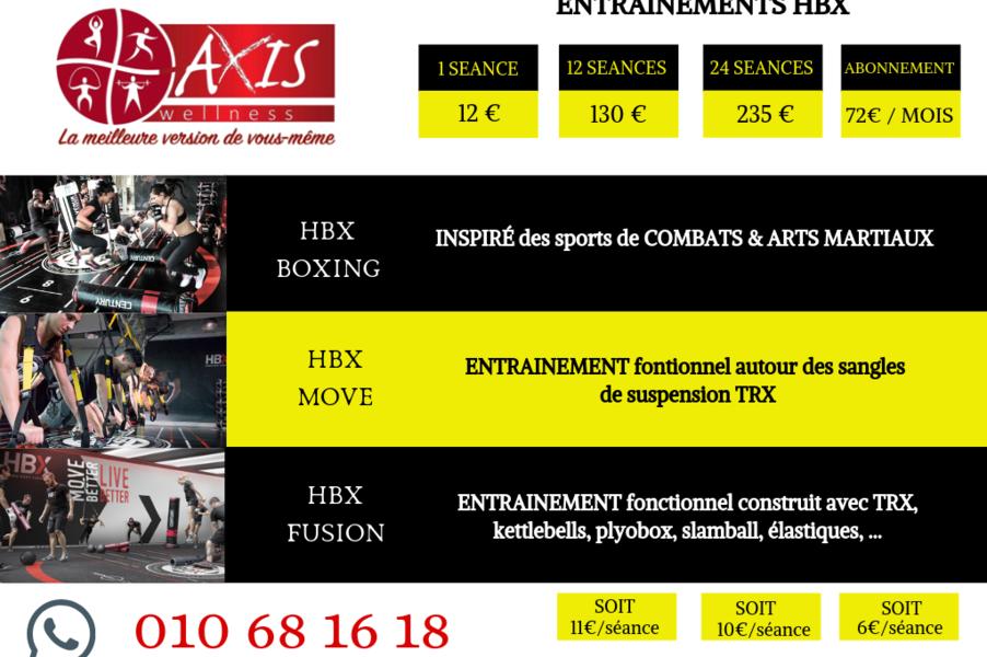 les COURS HBX